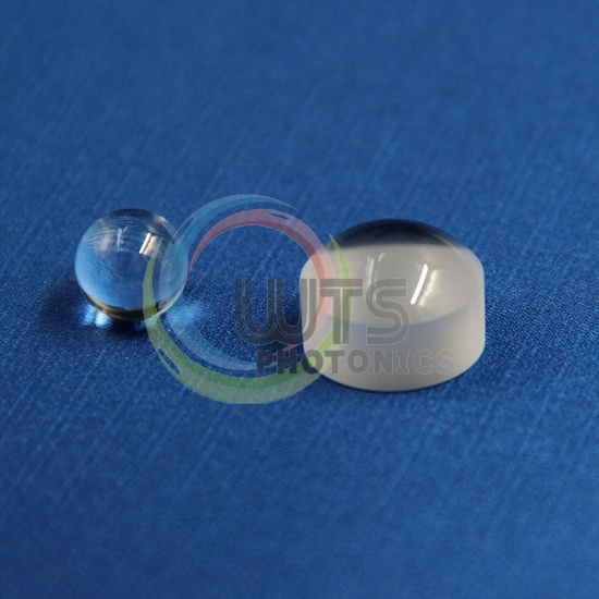 Optical glass micro lenses