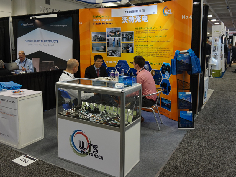WTS attended the Photonics West 2018 at USA from Jan 30th to Feb 1st. WTS booth is: 4265