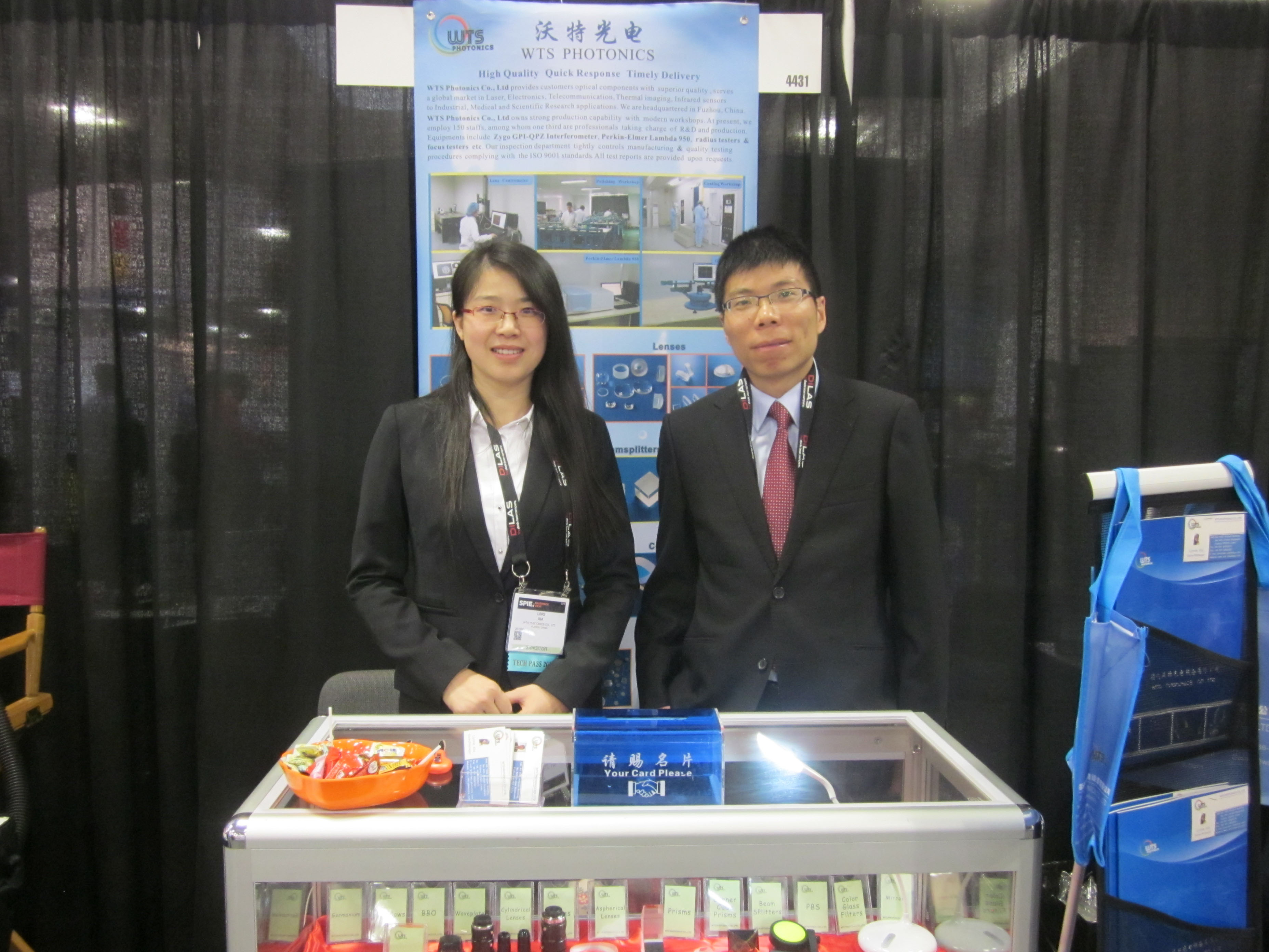 WTS Photonics Has Successfully Participated In PHOTONIS WEST 2016