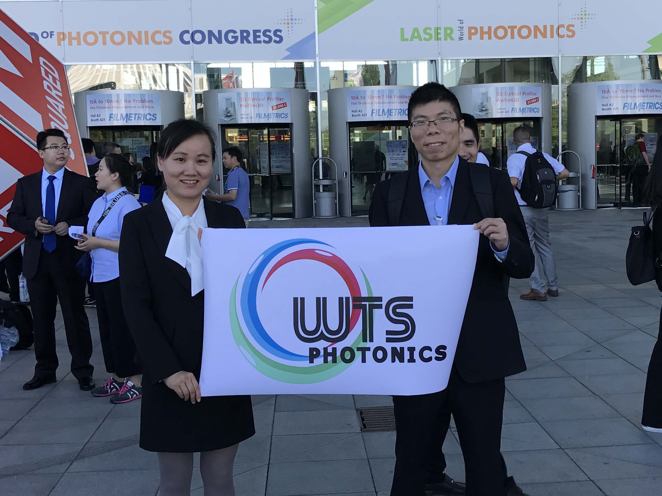 WTS Photonics has successfully participated in Laser World of Photonics 2017